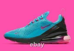 Nike Air Max 270 South Beach Miami Heat Vice Nights BV6078 400 Men's Size 12