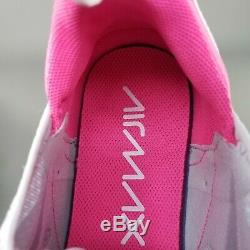 Nike Air Max 270 South Beach Running Shoes Womens Size 10 Athletic Gray Pink
