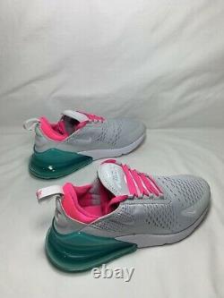 Nike Air Max 270 South Beach Women's Size 7 PR PLTNM/WHT-PNK BLST AH6789 065