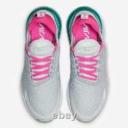 Nike Air Max 270 (Womens Size 7) Sneakers Shoes AH6789 065 South Beach Teal