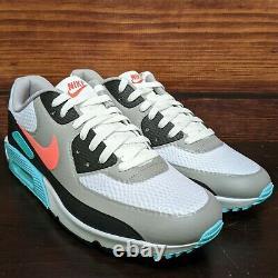 Nike Air Max 90 G Golf Men's 10 White Hot Punch South Beach shoes (CU9978-133)