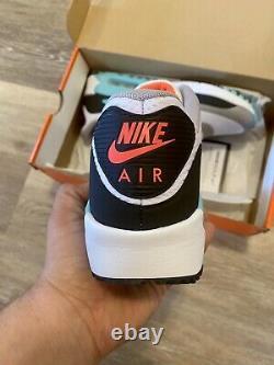 Nike Air Max 90 G'South Beach' Hot Punch White Golf Shoes CU9978-133 Men's 10.5