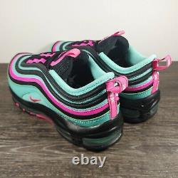 Nike Air Max 97'Hyper Turquoise' Men's Size 9 CU4877-300 South Beach Black/Pink