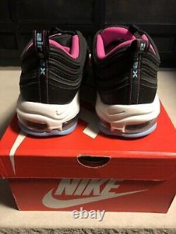 Nike Air Max 97 South Beach Miami Vice Size 14 BV1256-001 Premium Black White