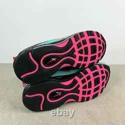 Nike Air Max 97 South Beach Miami Vice Turquoise Pink CU4877-300 Mens Size 13
