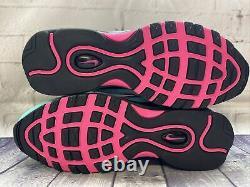 Nike Air Max 97 South Beach Run Shoes Green Pink CU4877-300 Mens Size 11.5 NEW