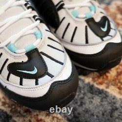 Nike Air Max 98 South Beach White Black Pink Women Shoes Size 8.5 AH6799-065