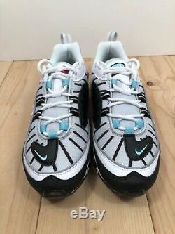 Nike Air Max 98 South Beach White Black Pink Women Shoes Size 9 AH6799-065