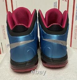 Nike Air Max Hyperposite Fireberry South Beach 524862-400 Foamposite Size 10