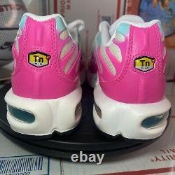 Nike Air Max Plus GS'South Beach' 718071 102 Size 5Y / Womens 6.5