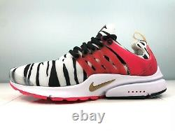 Nike Air Presto'South Korea' Sneakers White Red Black CJ1229-100 Men's Size 9.5