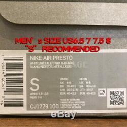 Nike Air Presto South Korea Tiger Stripe White Black Blue Red Unisex CJ1229-100