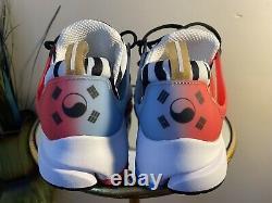 Nike Air Presto South Korea White 2020 SZ Small 7-9 Cj1229-100