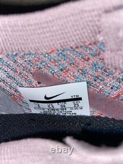Nike Air VaporMax Flyknit 3'South Beach' AJ6910-500 Women's Running Shoe Size 8
