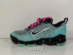 Nike Air VaporMax Flyknit 3 South Beach BQ5238-300 Youth Sz 6Y Womens Sz 7.5