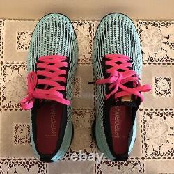 Nike Air VaporMax Flyknit 3'South Beach Miami Vice' AJ6900-323 Sz 10 NEW IN BOX
