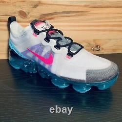Nike Air Vapormax 2019 South Beach Women's Size 8 Pink Blast Turqouise NEW