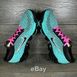Nike Air Vapormax 3 Flyknit'South Beach' Sneakers (AJ6900-323) Men's Sizes