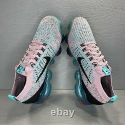 Nike Air Vapormax Flyknit 3 Plum Chalk South Beach AJ6910 500 Womens Size 6.5