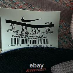 Nike Air Vapormax Flyknit 3 Womens Sz 12 Running Shoes South Beach