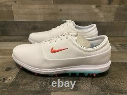 Nike Air Zoom Victory Tour Golf Shoes South Beach Hot Punch AQ1479-102 Size 14