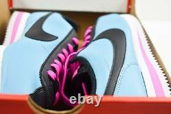 Nike Cortez Basic Leather (Mens Size 9.5) Shoes BV2527 400 South Beach Miami