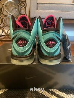 Nike LeBron 8 QS South Beach Men Size 7 CZ0328-400 In Hand/ Fast Shipping