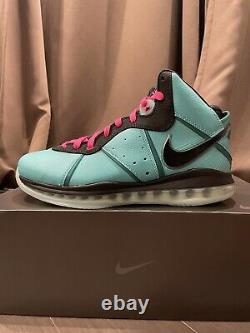 Nike LeBron 8 South Beach 2021 CZ0328-400 Mens SIZE 11 (Brand New)