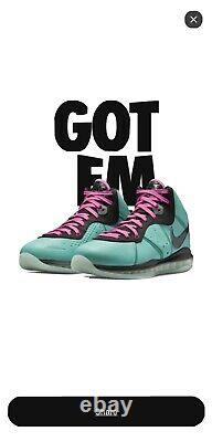 Nike LeBron 8 South Beach (2021) CZ0328-400 Size 11 Brand NEW IN HAND! Ships