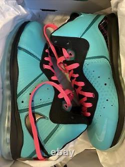 Nike LeBron 8 South Beach 2021! Mens SIZE 11 (Brand New)