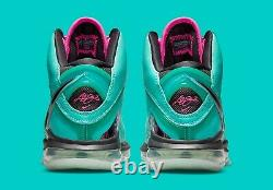 Nike LeBron 8 South Beach (2021) Size 9 AUTHENTIC DEADSTOCK
