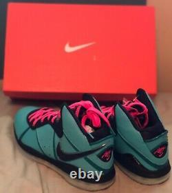 Nike LeBron 8 South Beach Size 14