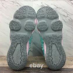 Nike LeBron James XVII 17 GS South Beach Aqua Pink BQ5594-444 7Y Women's 8.5