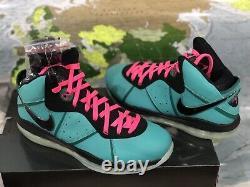 Nike LeBron Vlll QS (8) SOUTH BEACH (CZ0328-400) SIZE 10.5 Mens