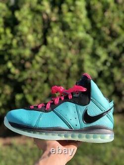 Nike Lebron 8 South Beach (2021) CZ0328-400 Size 11.5