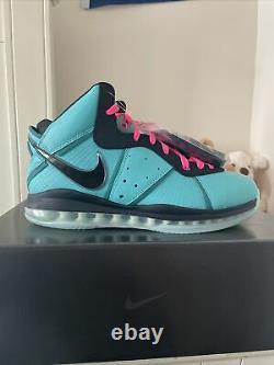 Nike Lebron 8 South Beach (2021) Men's Size 12 CZ0328-400
