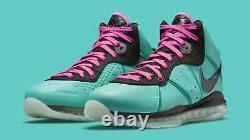 Nike Lebron 8 South Beach (2021) Men's Size 9 CZ0328-400