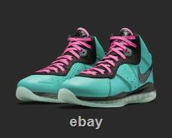 Nike Lebron 8 South Beach 2021 Retro Pink CZ0328-400 Size 7.5 Order Confirmed