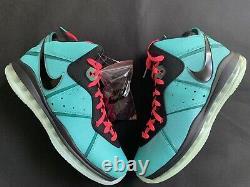 Nike Lebron 8 VIII South Beach 2021 Retro Pink CZ0328-400 Size 12