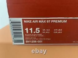 Nike Men's Air Max 97 Premium BV1256-001 Miami Vice South Beach Size 11.5