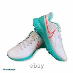 Nike React Infinity Pro Golf South Beach White Punch Green Size 10.5 CT6620-177