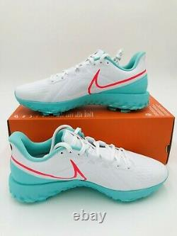Nike React Infinity Pro South Beach Men's Size 11.5 Golf Shoes PGA CT6620 177