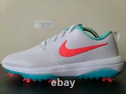 Nike Roshe G Tour Golf Shoes Cleats South Beach Hot Punch AR5580-103 Sz 7.5