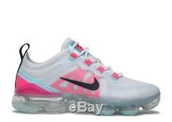 Nike Vapormax 2019 South Beach Grey Pink Obsidian AR6632 007 Womens Size 8