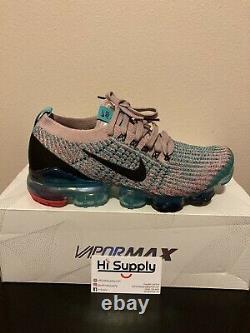 Nike W Air Vapormax Flyknit 3 South Beach Size 8 Plum Chalk/black AJ6910 500