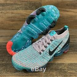 Nike Womens Air VaporMax Flyknit 3 South Beach Plum Chalk Size 11 AJ6910 500
