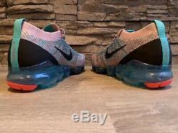 Nike Womens Air Vapormax Flyknit 3 Plum Chalk South Beach AJ6910-500 Size 12