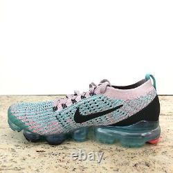 Nike Womens Air Vapormax Flyknit 3 Plum Chalk South Beach AJ6910 500 Size 6.5