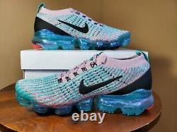 Nike Womens Air Vapormax Flyknit 3 Plum Chalk South Beach AJ6910 500 Size 8.5