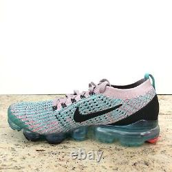 Nike Womens Air Vapormax Flyknit 3 Plum Chalk South Beach AJ6910 500 Size 8 New
